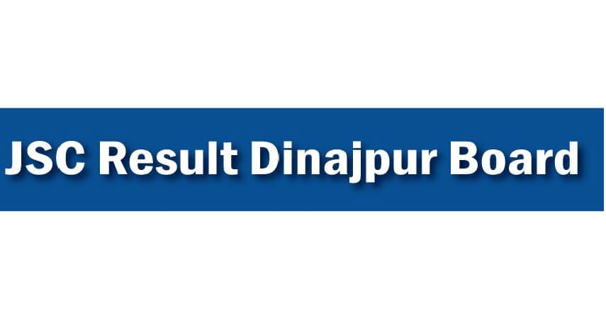 JSC Exam Result Dinajpur Board 2020 www.dinajpureducationboard.gov.bd
