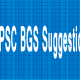 PSC Somaj Suggestion